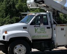 TJays Tree Service Truck